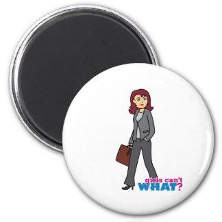 Business Woman Fridge Magnet