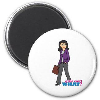 Business Woman - Medium Fridge Magnets
