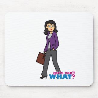 Business Woman - Medium Mouse Pad
