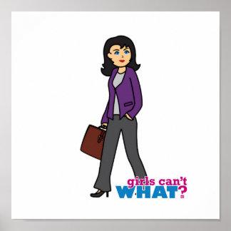 Business Woman - Medium Poster