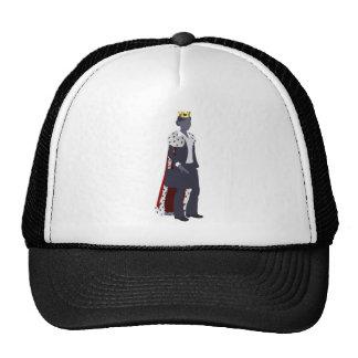 Business woman queen mesh hats