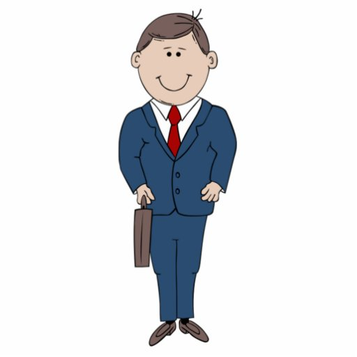 Businessman Acrylic Cut Outs