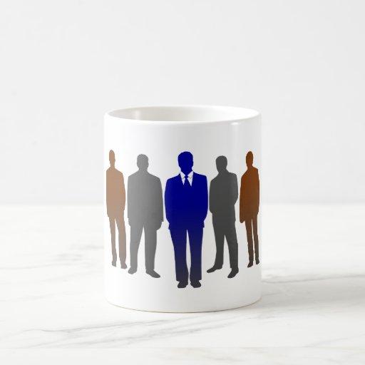 Businessmen business men mugs