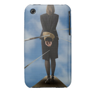 businessperson walking the plank iPhone 3 covers