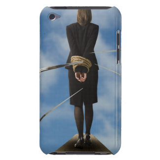 businessperson walking the plank Case-Mate iPod touch case