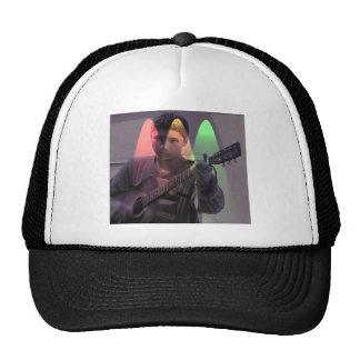 Busker on the street cap