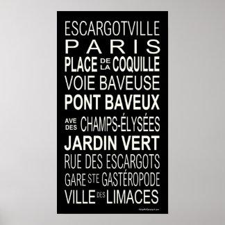 Busroll.Escargot Poster
