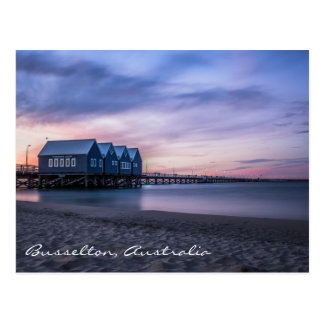 Busselton Jetty at Dusk Postcard