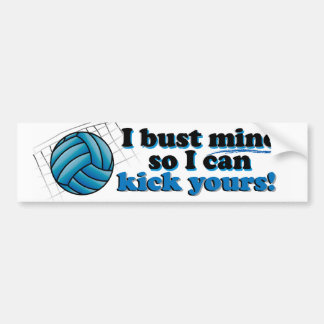 Bust Mine Bumper Sticker