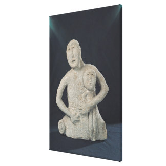 Bust of a Mother Goddess Canvas Print