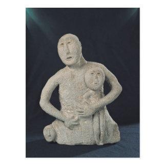 Bust of a Mother Goddess Postcard
