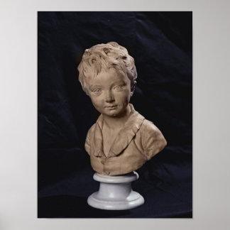 Bust of Alexandre Brongniart Poster
