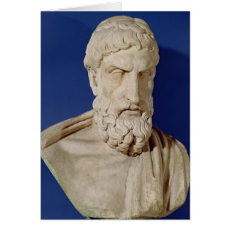 Bust of Epicurus Cards