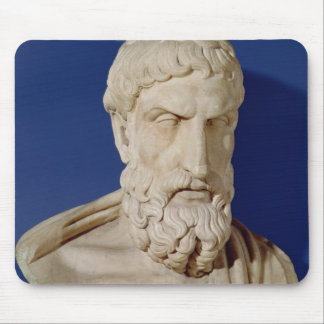 Bust of Epicurus Mouse Pad