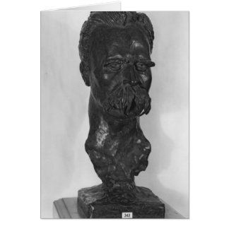 Bust of Friedrich Nietzsche  German Card