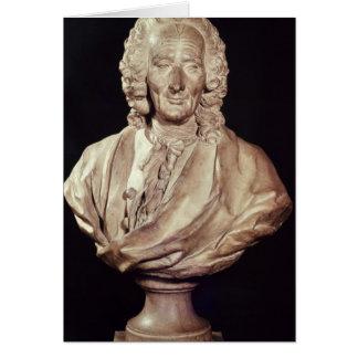Bust of Jean-Philippe Rameau  1760 Card