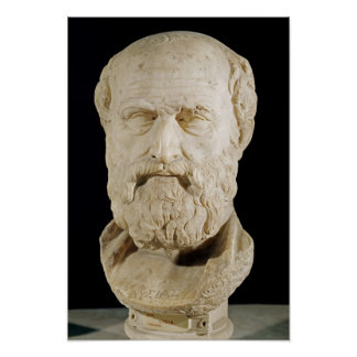 Bust of Lysias Poster
