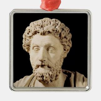 Bust of Marcus Aurelius Metal Ornament