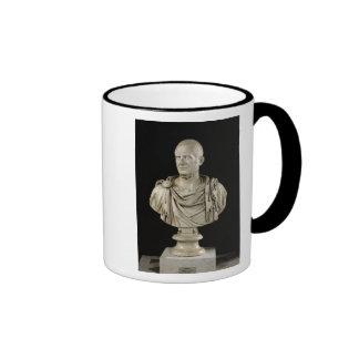 Bust of Marcus Claudius Tacitus Ringer Mug