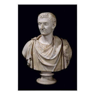 Bust of Marcus Cocceius Nerva Poster
