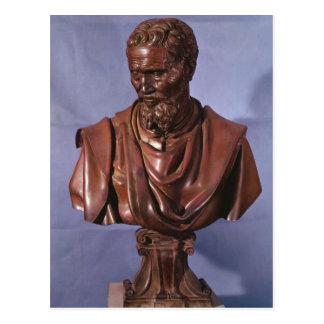 Bust of Michelangelo Buonarroti Postcard