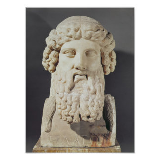 Bust of Plato Poster