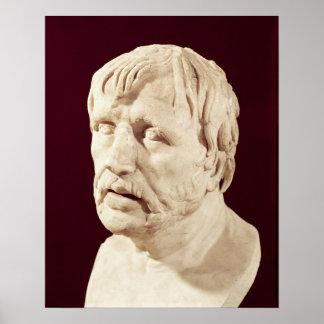 Bust of Seneca Poster