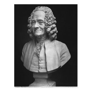 Bust of Voltaire Postcard