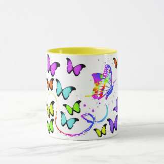 Bust Out Butterfly Coffee Mug