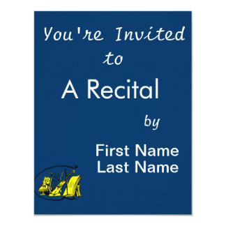 bust yellow lyre violin sheet music design.png announcements