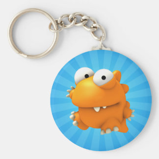 Buster Basic Round Button Key Ring