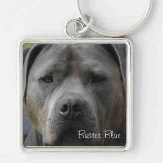 Buster Blue KeyChain Square