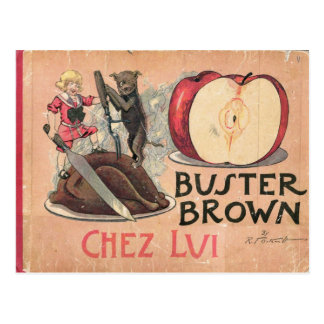 Buster Brown Postcard