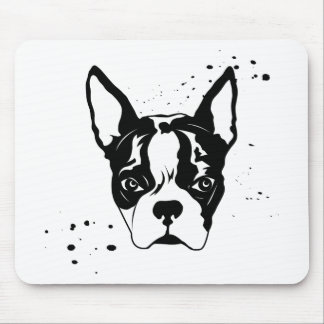 buster rough mouse pad