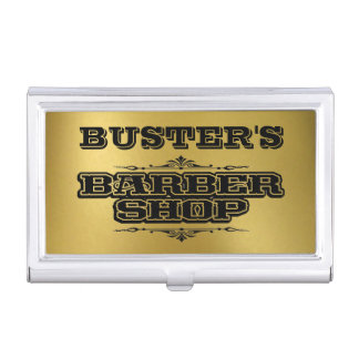 Barbershop gifts t shirts art posters other gift for Barber business card holder