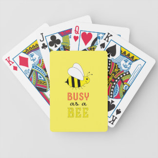 Busy as a Bee Bicycle Playing Cards