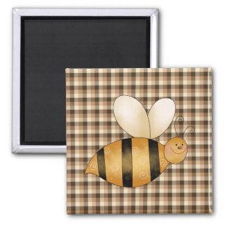 Busy as a Bee Fun Fridge Magnet