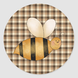 Busy as a Bee Fun Stickers Seals