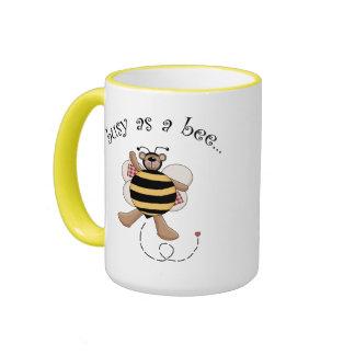 Busy As a Bee Coffee Mugs