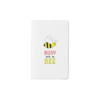 Busy as a Bee Pocket Moleskine Notebook