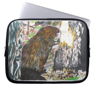 Busy Beaver Laptop Sleeve