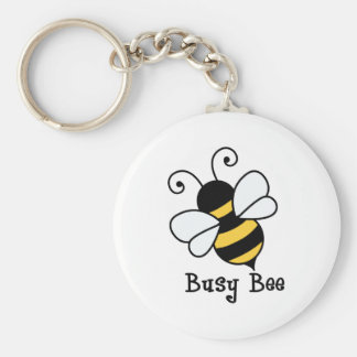Busy bee2 basic round button key ring