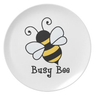 Busy bee2 plate