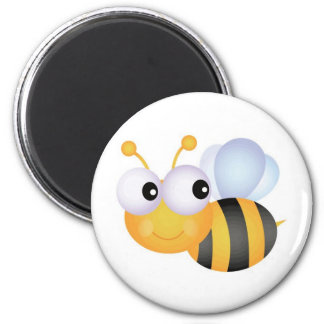 Busy Bee 6 Cm Round Magnet