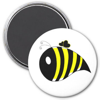 Busy Bee 7.5 Cm Round Magnet