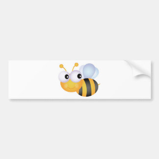 Busy Bee Bumper Sticker