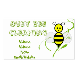 Busy Bee Clip Art Pack Of Standard Business Cards