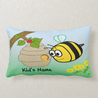 Busy Bee Cute Kid's American MoJo Pillows Cushions