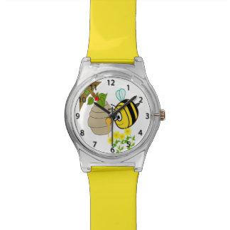 Busy Bee Cute Kid's Wrist Watch