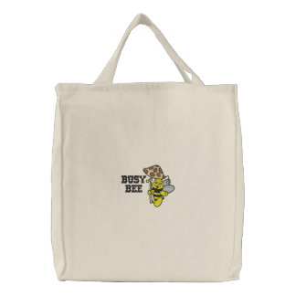 Busy Bee Embroidered Bag